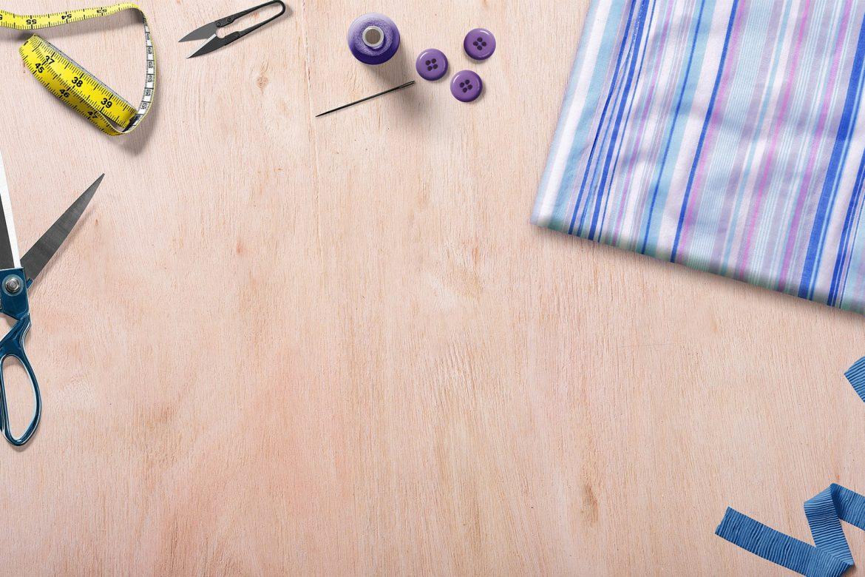Piękny i kolorowy świat tkanin